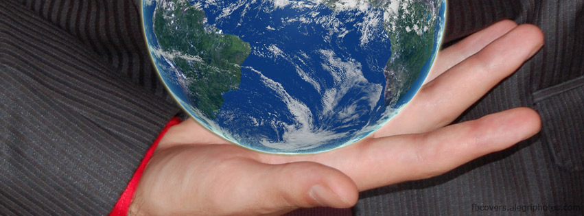 Facebook Cover Photos Earth Holding Earth Facebook Cover