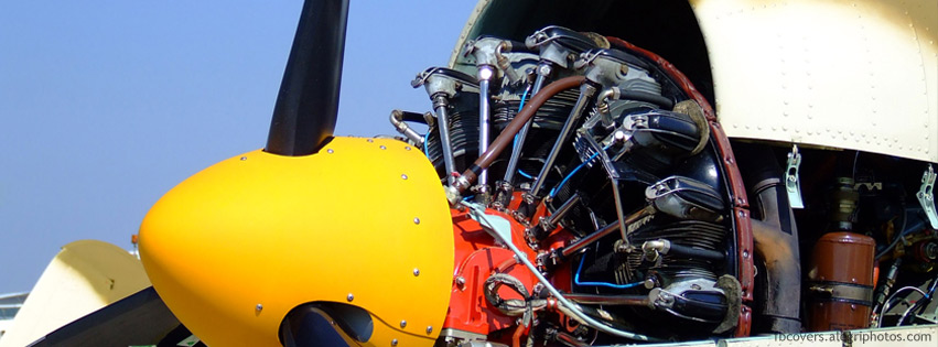 Engine nacelle Facebook cover